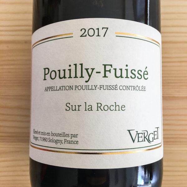 Maison Verget Pouilly-Fuissé Sur La Roche 2017